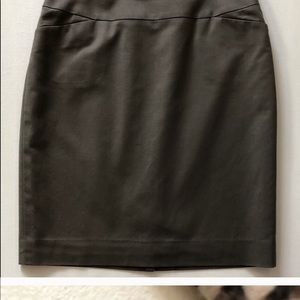 Halogen brown lined skirt, size 2